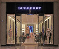 Entrance of a Burberry store