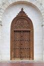 Entrance door chateau cos destourne one best vineyards bordeauxl Royalty Free Stock Photography