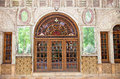 Entrance door  of Golestan  palace, Tehran Royalty Free Stock Images