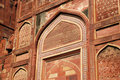Entrance Gate close-up in Agra fort Stock Photos