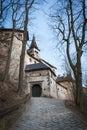 Entrance gate into The medieval Orava Castle, Slovakia.