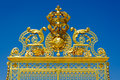Entrance Gate To Versailles Royalty Free Stock Photo