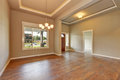 Entrance hall of brand new house. Royalty Free Stock Photo