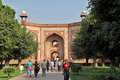 The entrance of Humayun Tomb, New Delhi, India Royalty Free Stock Photography
