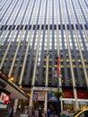 Entrance of Madison Square Garden, New York, USA Royalty Free Stock Photo