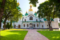 Entrance in Saint Sophia Cathedral in Kiev Royalty Free Stock Image