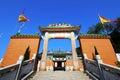 Entrance of Tin Hau Temple Royalty Free Stock Photo