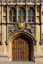 Entrance to All Souls College, Oxford Stock Image