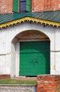 Entrance to the church of saint nicolas in yaroslavl russia a popular touristic landmark Royalty Free Stock Photography