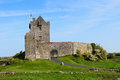 Entrance to dunguaire castle famous near galway ireland Stock Photo