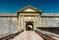 Entrance to Fort San Felipe del Morro in Puerto Rico Royalty Free Stock Photo