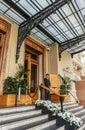Entrance to the Grand Casino in Monte Carlo, Monaco Royalty Free Stock Photo