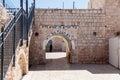 Entrance to the grave of Rabbi Shimon-bar Yochai in Mount Meron