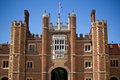 Entrance to the Hampton Court, UK Royalty Free Stock Photo