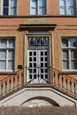 Entrance to a historic house in Warendorf Royalty Free Stock Photo