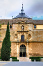 Entrance to hospital de tavera also known as hospital de san juan bautista hospital de afuera toledo spain Royalty Free Stock Photography