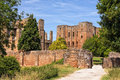 Entrance to Kenilworth Castle, Warwickshire. Royalty Free Stock Photo