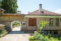 Entrance to the monastery of St. Nicholas in Veliko Tarnovo Royalty Free Stock Photo