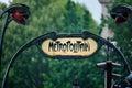Entrance to the Paris Metro Royalty Free Stock Photo