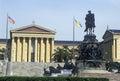 Entrance to the Philadelphia Museum of Art, Philadelphia, PA