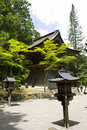 Entrance to the temple complex on Mount Koya Stock Photography