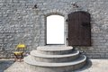 Entrance to the temple talinn estonia Royalty Free Stock Images
