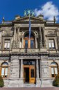 Entrance to the Teylers Museum in Haarlem Royalty Free Stock Photo
