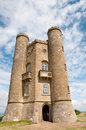 Entrance to the tower broadway near broadway in cotswolds in worcestershire in england Royalty Free Stock Photo