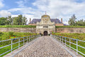 Entrance to the Vauban Citadel , Lille Royalty Free Stock Photo