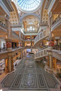 Entry of The Forum Shops in Las Vegas Stock Photography