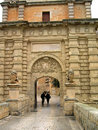 Entry in Mdina in Malta Royalty Free Stock Images