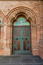 Entry to the church of the redeemer germany Royalty Free Stock Photos
