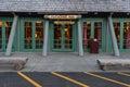 Mount Rainier National Park, United States: July 28, 2017: Entry Royalty Free Stock Photo