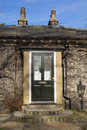 Entry of traditional English cottage Royalty Free Stock Photo