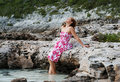 Entspanntes Mädchen Lizenzfreies Stockbild