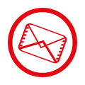 Envelope email isolated icon