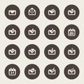 Envelope icon email design Stock Images