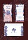 Envelope and Invitation Royalty Free Stock Photo