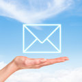 Envelope Mail icon Royalty Free Stock Photo