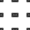 Envelope mail icon for web. Flat design illustration. Vector Royalty Free Stock Photo