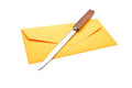 Envelope opener Royalty Free Stock Photo
