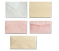 Envelope set Stock Photography