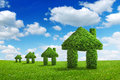 Environment ecology nature green home integration concept Royalty Free Stock Photo