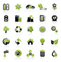 Environment icon set Stock Image