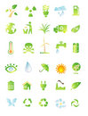 Environment icon set Royalty Free Stock Photo