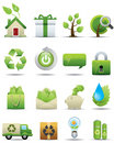 Environment Protection Icon Set -- Premium Series Stock Photo