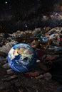 Environmental contamination concept Royalty Free Stock Photo