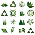 Environmental icons Stock Photos