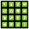 Environmental icons Royalty Free Stock Photos