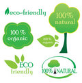 Environmental labels Stock Images
